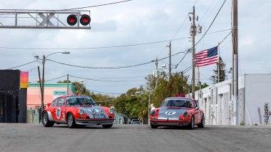 1968-Porsche-911S-Race-Car-Tangerine---Silver-Outdoors