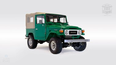 1983-Toyota-Land-Cruiser-FJ40-John-Deere-Green-FJ40-361667-Studio-001