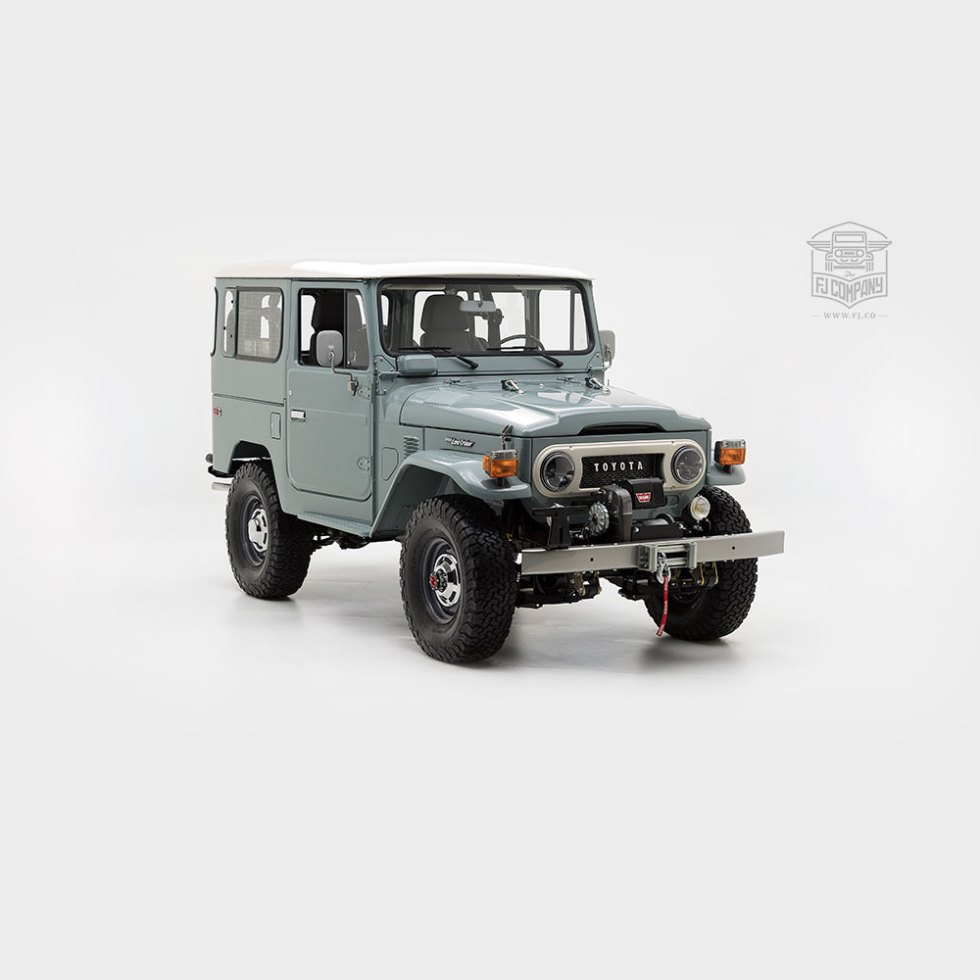 Toyota Land Cruiser Fj40 Juan Rivas 1983 Heath Gray