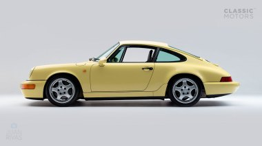 Straat-Automobile-1992-Porsche-964-RS---Limone-Yellow-WPOZZZ96ZN490974-Studio-005