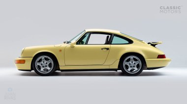 Straat-Automobile-1992-Porsche-964-RS---Limone-Yellow-WPOZZZ96ZN490974-Studio-006